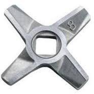 Оригинальный нож  (двухсторонний) №8 для мясорубки Bosch 755472 / 632543