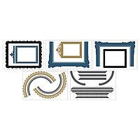 Декоративные наклейки Клэтта, рамы д/настенного коллажа