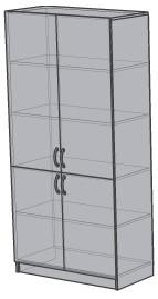 Шкаф для лабораторной посуды ШФ 01.004