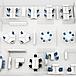 Cтолы для 4-х сотрудников Workbench, фото 3