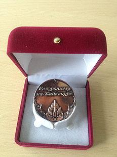 Медали в бархатном футляре