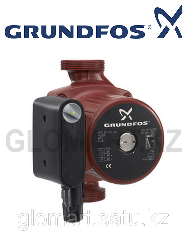 Насос Grundfos UPS 32-60/180 циркуляционный (Грюндфос)