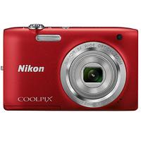 Цифровая фотокамера Nikon COOLPIX S2800 Red