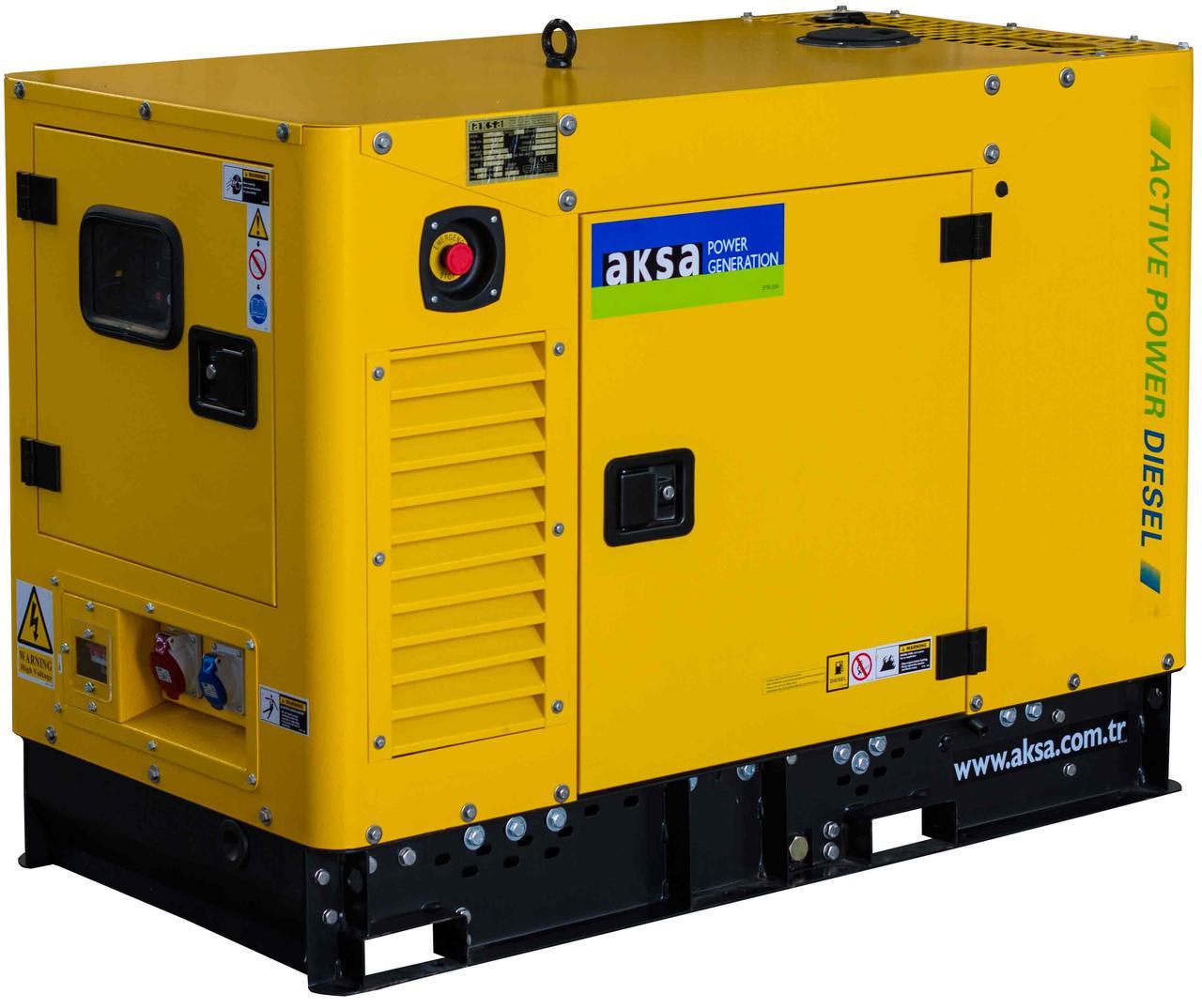Двигатель AKSA A4CRX47 установлен на дизельных генераторах AKSA APD50A