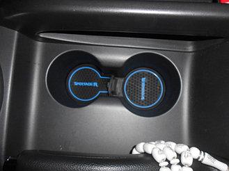 Коврики по консоли Kia Sportage R 2
