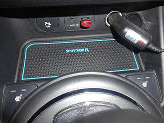 Коврики по консоли Kia Sportage R 3