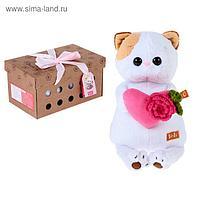"Мягкая игрушка ""Кошечка Ли-Ли"" с розовым сердечком, 24 см"