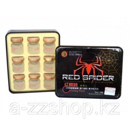 Женские капли для возбуждения Red spider 9 шт( 5 мл )
