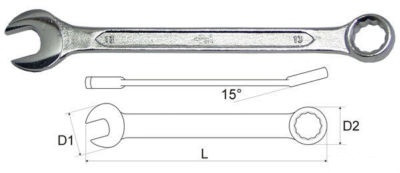 Комбинированный ключ Yato YT-0335