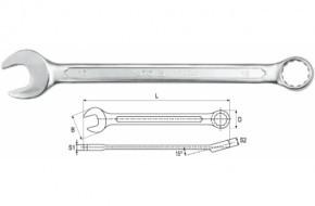 Ключ комбинированный YATO-0336