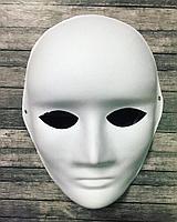 """Маска-основа """"Лицо"""", цвет белый 23х18 см"""