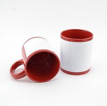 MT-B010 Кружка цветная керамика для сублимации в цвете (Красный)