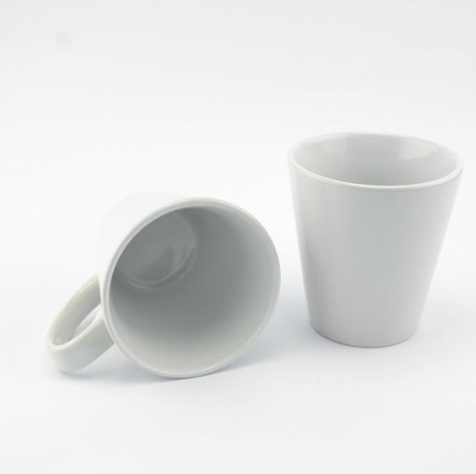 MT-LM012 Кружка конусная для сублимации цвет белый