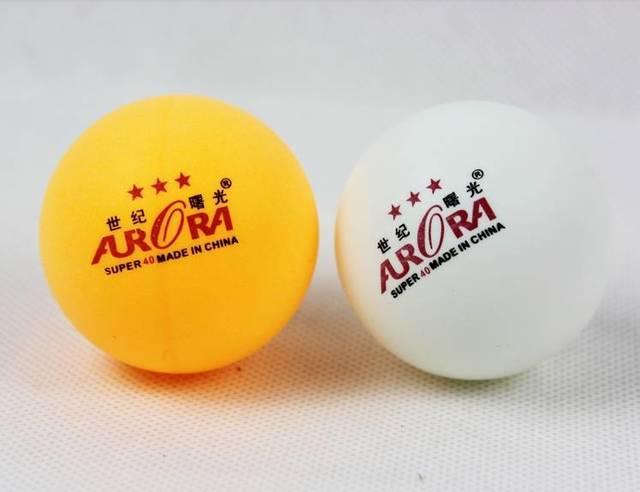 Шарики для настольного тенниса  AURORA