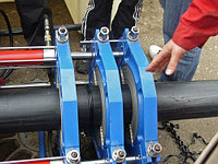 Стыковая сварка полиэтиленовых труб ССПТ- 1200, фото 1