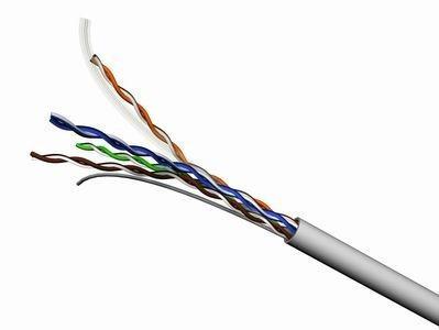 RIPO кабель сетевой, UCH-5514, UTP Cat.5e 4x2x1/0,51 LSZH 305 м/б (негорючий)