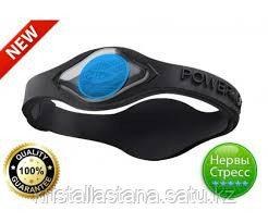 Браслет с синей голограммой Power Balance Blue Hologram Silicone Wristband