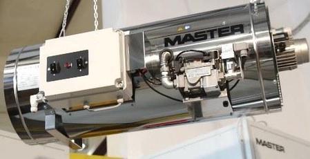 Подвесные нагреватели Master: BLP/N 80 (на природном газе), фото 2
