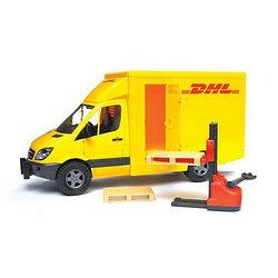 MB Sprinter фургон DHL с погрузчиком