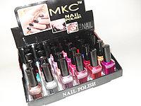 MKC Nail polish 18мл.  24шт. 20упак. (перлам)