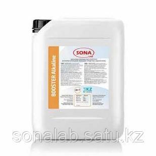 Booster Alkaline- Вспомогательное моющее средство для удаления грязи и жирных пятен (щелочное), 5л