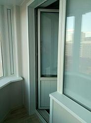 Обшивка балкона декоративной панелью Сауран 14 8
