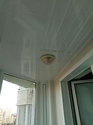 Обшивка балкона декоративной панелью Сауран 14 9