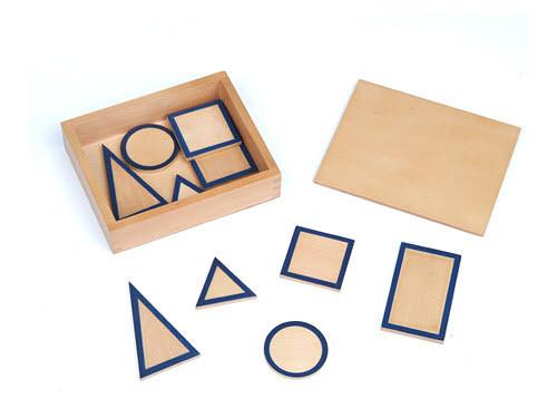 Ящик с основаниями для геометрических тел 2.17