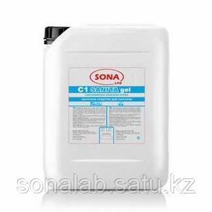 Sanita gel- Средство щелочное для санузлов (лимон/хлор), 5л