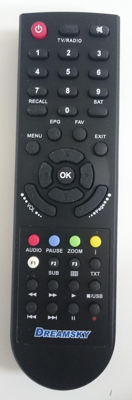 Пульт для ресивера DREAMSKY DSR-7500
