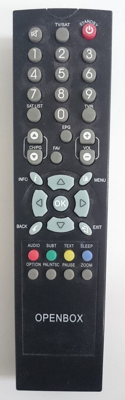Пульт для ресивера OPENBOX X800/X810/X820/F300