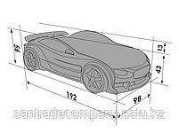 3D кровать-машина NEO БМВ для детей до 12 лет., фото 2