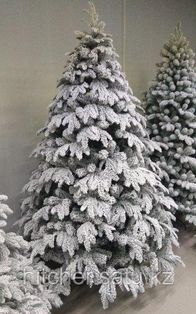 Новогодняя елка с искусственном 3D снегом в Алматы с доставкой по всему Казахстану