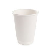 Стакан бумажный ThermoCup Белый д/гор. напитков, 300мл