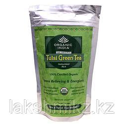Тулси - Зеленый Органический Чай (Organic India Tulsi Green tea)