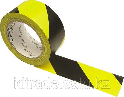Разметочная лента 3M 766i черно-желтые полоски - фото 1