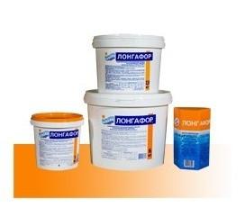 Лонгафор таблетированый, таблетки для бассейна, 2,6 кг (Маркопул)