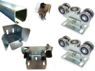 Комплект консольного механизма  для откатных ворот массой до 400 кг., ширина проема до 6 м. (Италия)