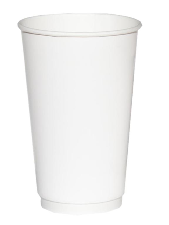 Стакан бумажный ThermoCup Белый д/гор. напитков, 400мл