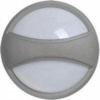 Светильник ДПО 1303 серый круг с пояском LED 6*1Вт IP54 (ИЭК)