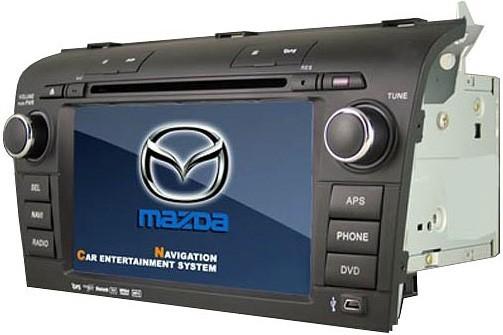 Штатное головное устройство для Mazda 3  2006