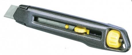 Нож INTERLOCK с сегментированным лезвием. Размеры 165 х 18 мм