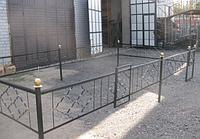 Оградки на кладбище, фото 1