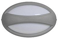 Светильник ДПО 1403 серый овал с пояском LED 6*1Вт IP54 (ИЭК)