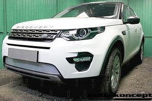 Защита радиатора Land Rover Discovery Sport 2014- chrome PREMIUM