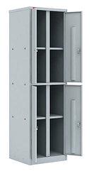 Шкаф 2-х секционный с 4-мя отделениями ШРМ-24