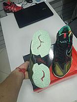 Баскетбольные кроссовки Nike Lebron 11 (XI) Low золото, фото 3
