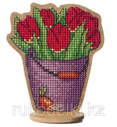 """Набор для вышивания сувенира """"Тюльпаны"""""""