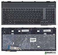 Клавиатура для ноутбука Asus G57V (черная с подсветкой, RU)