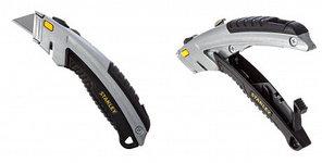 Нож Stanley с выдвижным лезвием с фронтальной нагрузкой, длина 180 мм